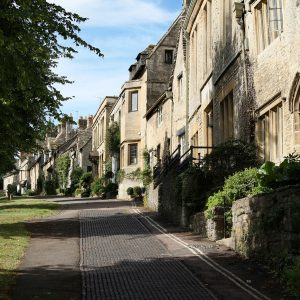 The Cotswold Town Of Burford