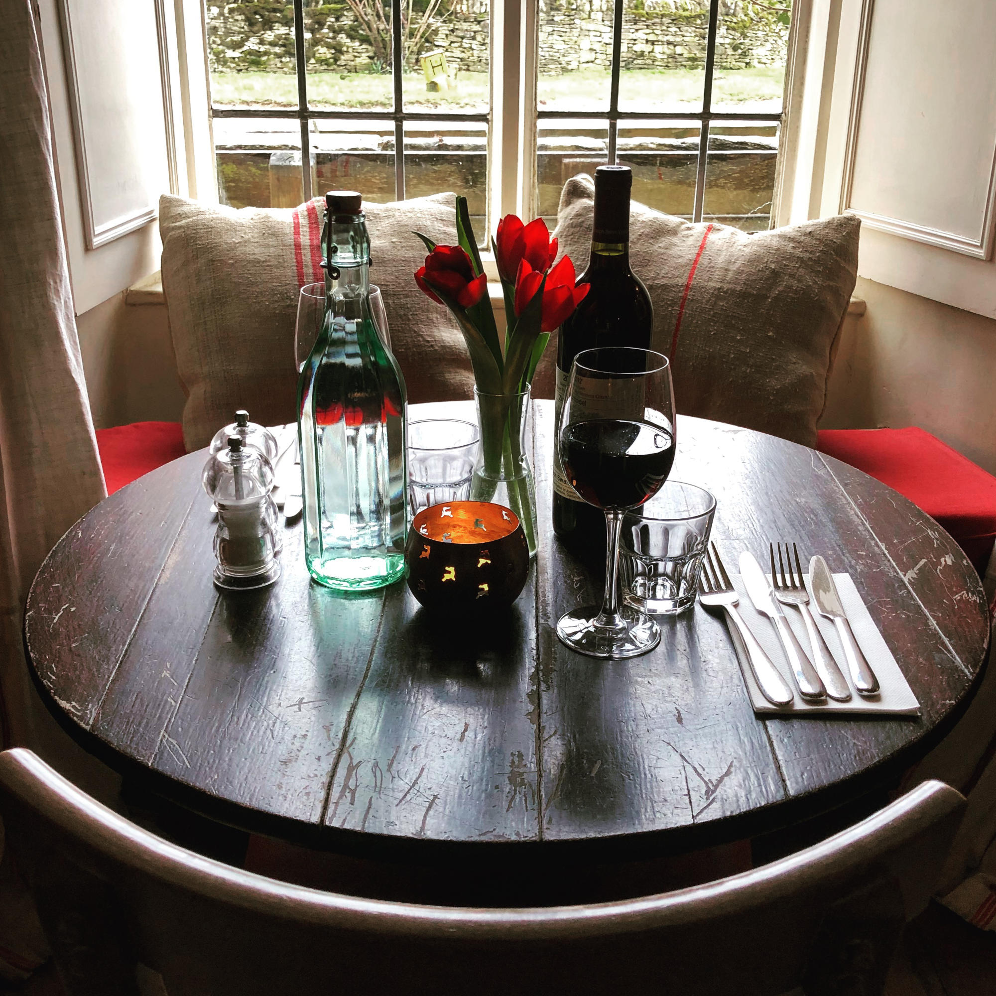 Valentine's Night In The Cotswolds At The Swan Inn, Swinbrook